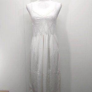 Vintage VANITY FAIR 38 TT White Stretch Lace Slip